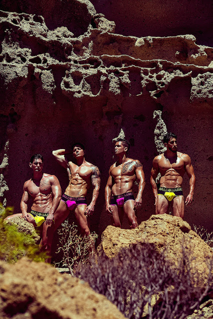 Fitness models by Adrian C. Martin for MaleBasics