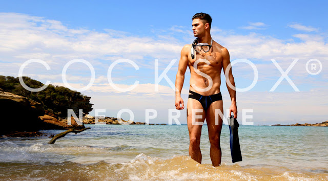 Cocksox neoprene swimwear