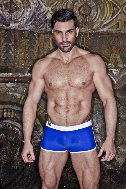 Model Guillermo Angulo for NITswim
