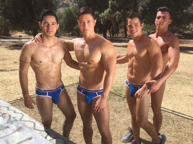 Andrew Christian Let The Games Begin
