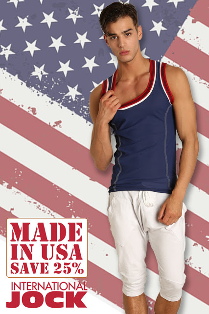 """Made in USA"" Sale at International Jock"