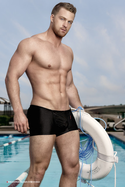 Alex Cairns by Armando Adajar for Ergowear swimwear