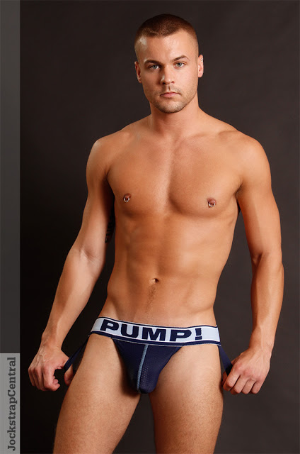 Matt in PUMP! jocks for Jockstrap Central