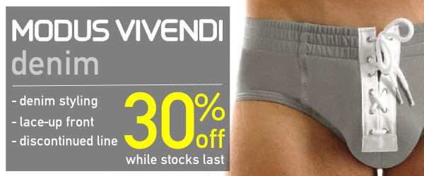 Modus Vivendi Denim line on sale at VOCLA