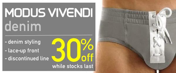 Modus Vivendi Denim line on sale at VOCLA