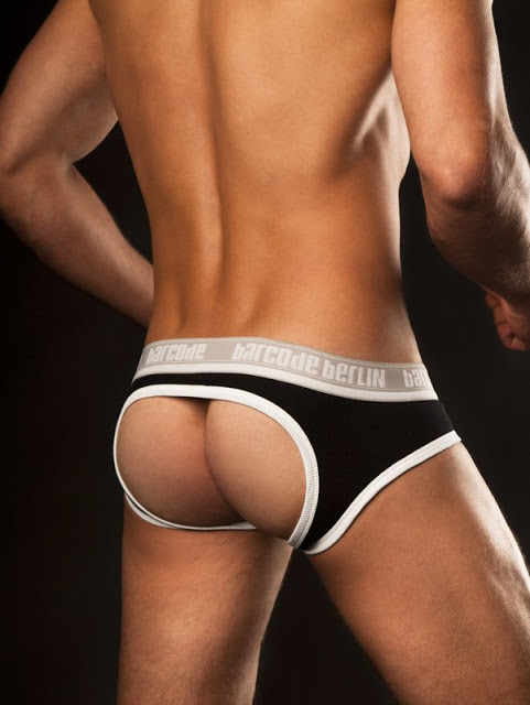 Barcode Berlin - Backless Cotton Briefs