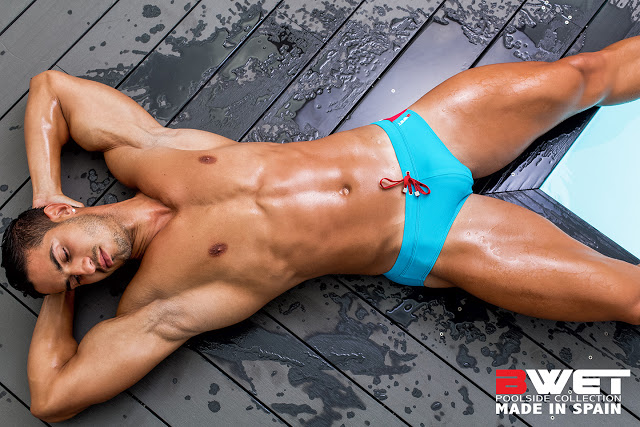Aransahi Cazorla by Adrian C. Martin for BWET swimwear
