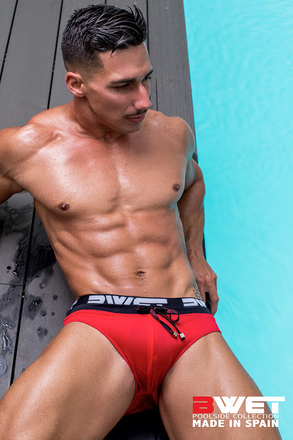 Gabriel Arocha by Adrian C. Martin for BWET swimwear