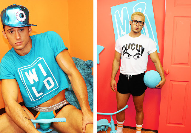 Marek+Richard underwear - Out of the closet look book