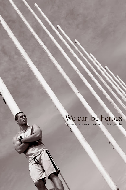 We can be heroes - editorial - Gavin Harrison