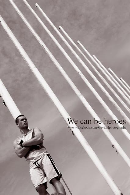 We can be heroes - editorial - Gavin Harrison