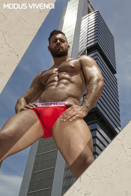 Modus Vivendi - Weekly line of underwear - Konstantin Kamynin by Joan Crisol
