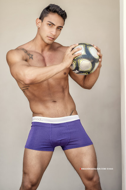 David R. by Armando Adajar for Wood underwear