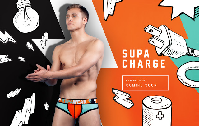 SUPAWEAR Supacharge underwear collection