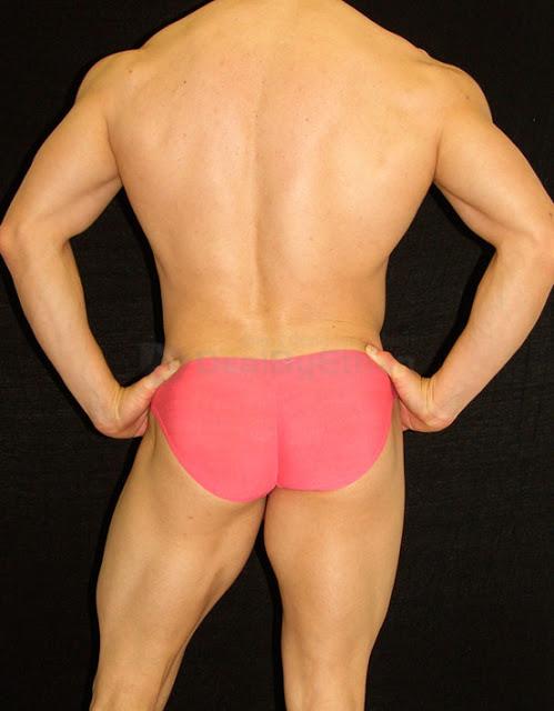 Arroyman Buns Bulge Slips Bikini Underwear