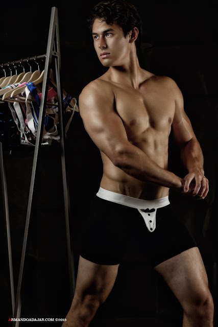 Chris Wells by Armando Adajar for PPU underwear