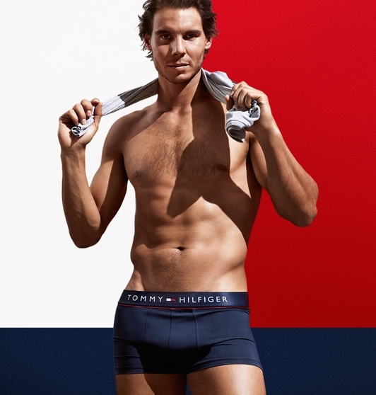 Rafael Nadal for Tommy Hilfiger