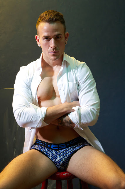 Men and Underwear exclusive - Joey by Gavin Harrison