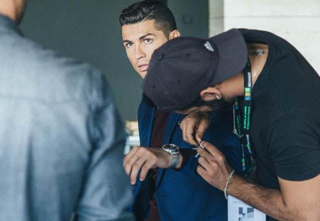 Cristiano Ronaldo - CR7 footwear F/W 2015 campaign - behind the scenes