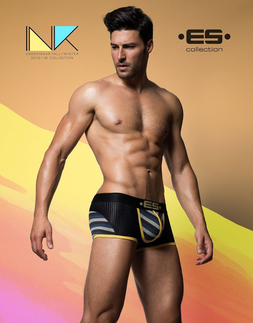 ES collection - INK campaign - F/W 2015 underwear