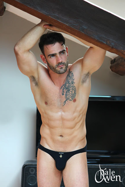 Jess Vill - Kale Owen underwear at Planet Undies