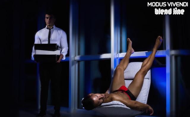 Kostas Milkas - John Kalomoiris by Panos Misailidis - Modus Vivendi Blend line