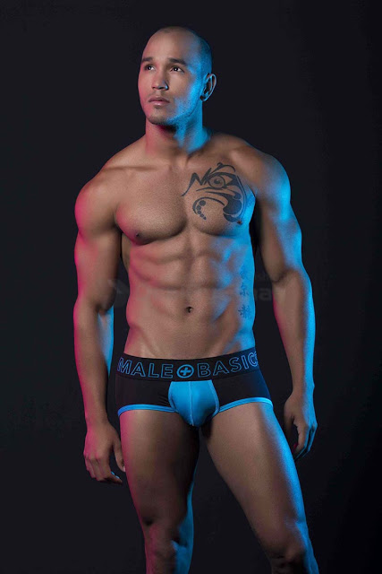 MaleBasics Neon Sport Brief