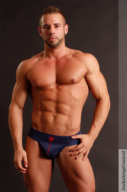 Jockstrap Central model Trent in the new Omtex Neo Jockstraps