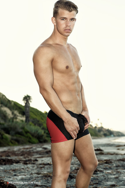 Shawn Alexander by Armando Adajar for Ergowear swimwear