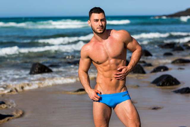 Marcuse swimwear - collection15 - Ayrton Mansi by Russell Fleming