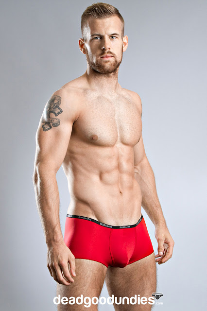 Adam Coussins in Doreance Aire exclusive at Dead Good Undies