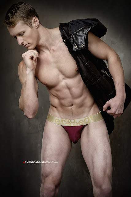 Model Jeff S by Armando Adajar for Ergowear