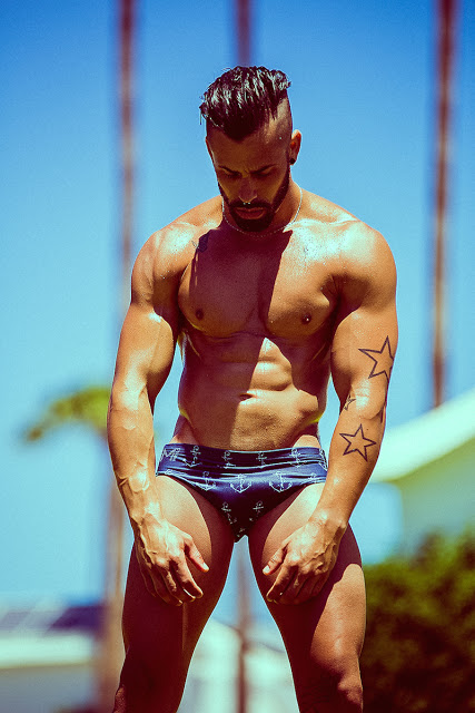Lionel Lopez by Adrian C.Martin for Manus swimwear