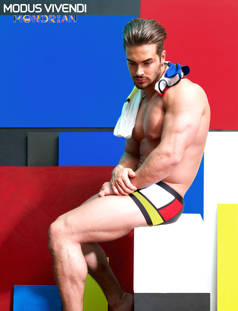 The new Mondrian Line of underwear by Modus Vivendi