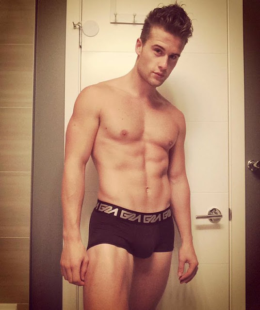 Instagram's Richard Funk in Garcon Model underwear