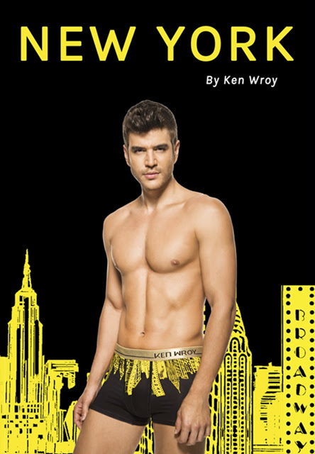Ken Wroy underwear - Great Skylines collection