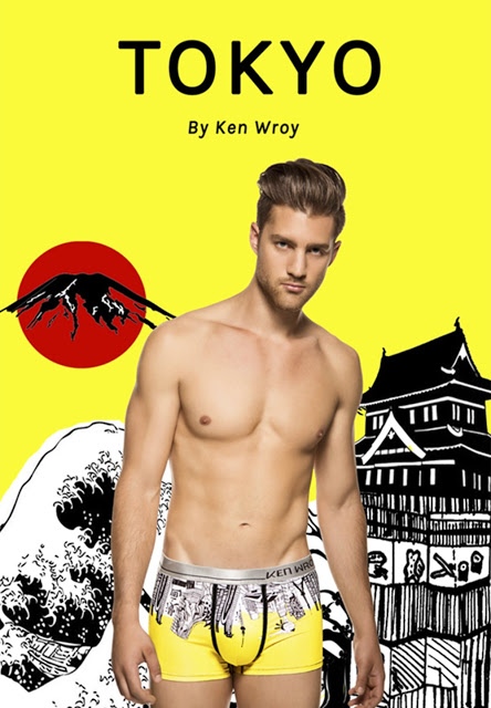 Ken Wroy underwear - Great Skylines collection