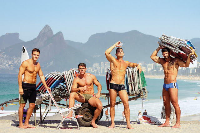 - Models Rafael Navaro - Leo Cabral - Daniel Navarini - Leandro Sant-Ana by Binho Dutra
