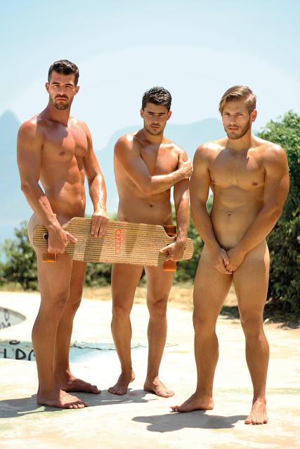 Models Bruno Miranda - Ricardo Barreto - Vinicius Gomes by Binho Dutra