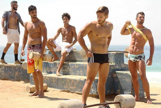 Models_Luiz Felipe Romano - Thiago Senra - Luciano Martins - Vinicius Gomes - Bruno Miranda by Binho Dutra