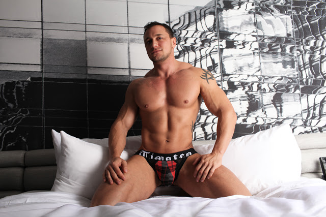 Joey D in Timoteo Tartan Plaid underwear
