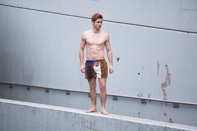 Free runner Conor Kenny for ZULU LONDON underwear