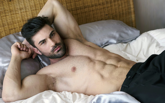 Model Guillermo Angulo by Miguel Anxo