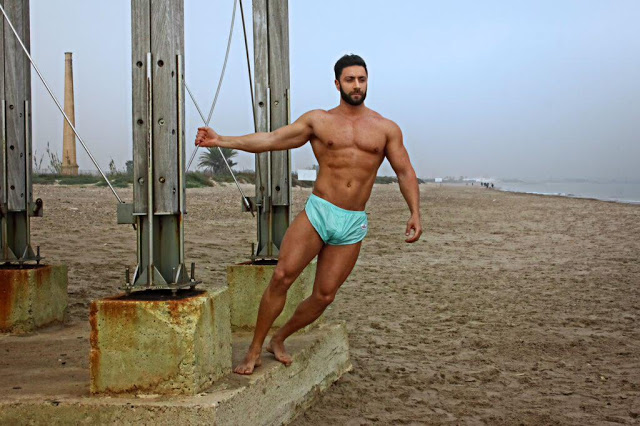 Fran Manent for AMU underwear and shorts