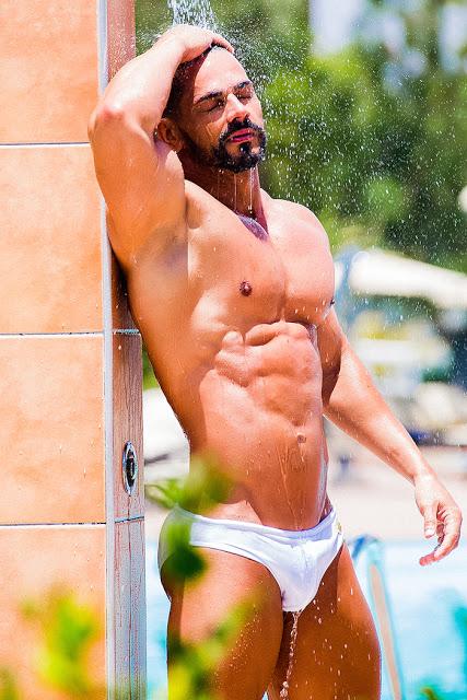 Ovidio González by Adrian C. Martin for Bang! swimwear