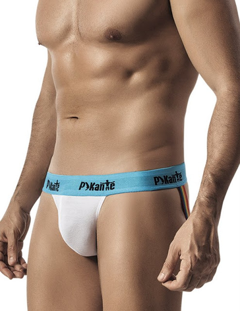 Pikante Cotton Jockstrap Thong