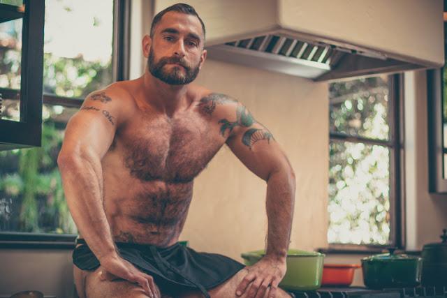 The Bear Naked Chef, Adrian de Bernadinis