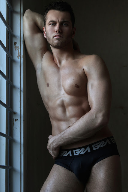 Model Sam by Martijn Smouter - Garcon Model underwear
