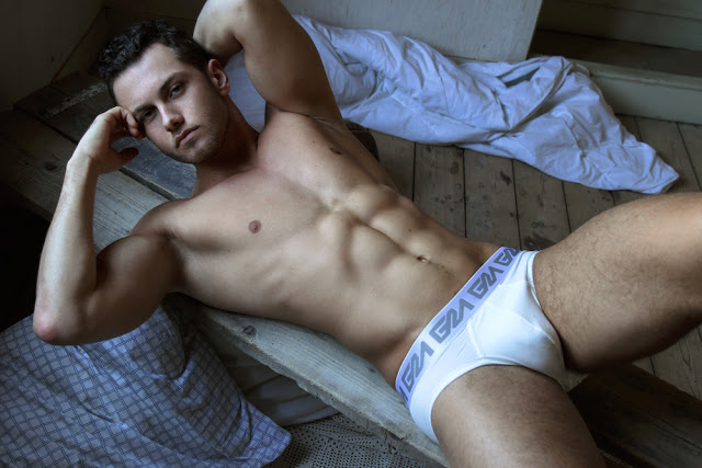 Model Sam by Martijn Smouter - Garcon Model underwear