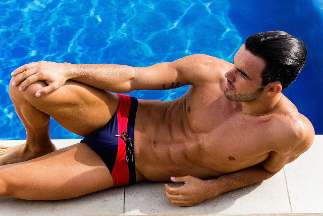 Tomás Pérez by Adrian C. Martin for BWET swimwear